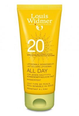 WIDMER SUN ALL DAY 20 PARF TUBE 1X100ML