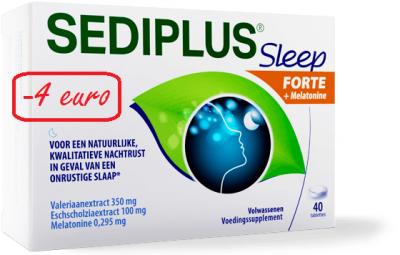 SEDIPLUS SLEEP FORTE COMP 40 PROMO -4?