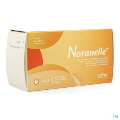 NORANELLE 20/100MCG FILMOMH TABL 13 X 21