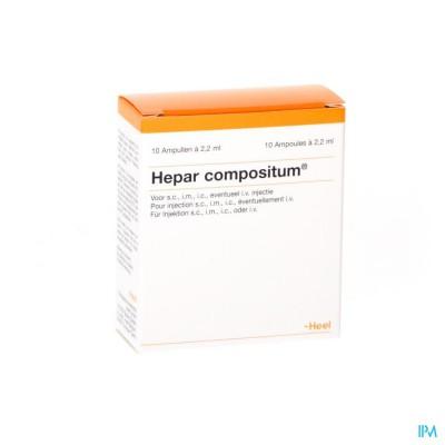 HEPAR COMPOSITUM II              AMP 10X2,2ML HEEL
