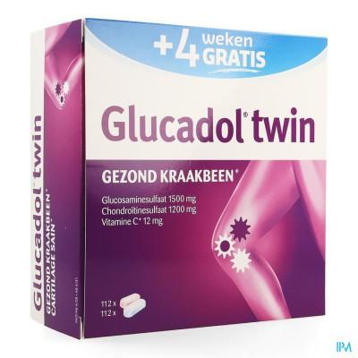GLUCADOL TWIN NF PROMO   TABL 2X112