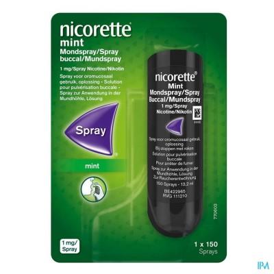 NICORETTE MINT MONDSPRAY 1X150 SPRAYS 1MG/SPRAY