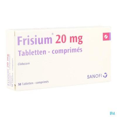 FRISIUM COMP. 50 X 20 MG