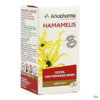 ARKOCAPS HAMAMELIS PLANTAARDOG 45 CFR 4137915