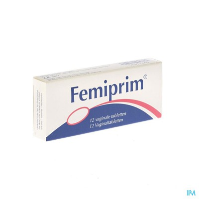 FEMIPRIM VAGINALE COMP 12X250MG