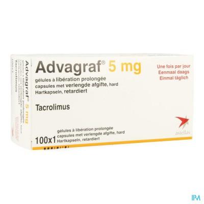 ADVAGRAF CAPS 100 X 5 MG