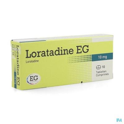 LORATADINE EG 10 MG TABL 10 X 10 MG