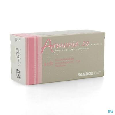 ARMUNIA 20 SANDOZ FILMOMH TABL 6 X 21