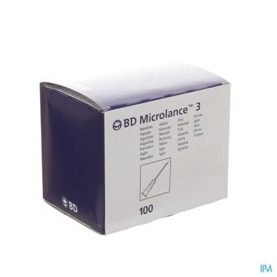 BD MICROLANCE 3 NLD 26G 1/2 RB 0,45X13MM BRUIN 100