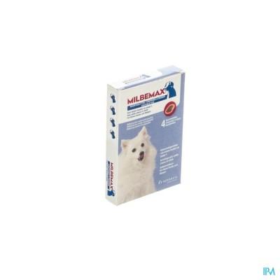 Milbemax Kleine Hond Puppy Kauwtabletten 1x4