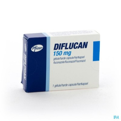 DIFLUCAN CAPS 1X150MG