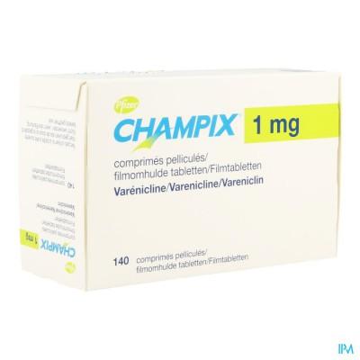 CHAMPIX COMP 140 X 1 MG