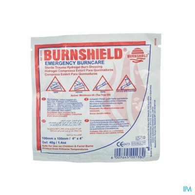 BURNSHIELD 10X10CM COVARMED