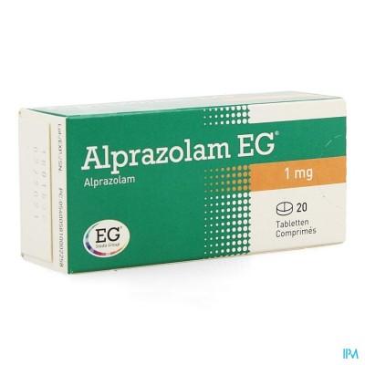 ALPRAZOLAM EG COMP 20 X 1,00MG