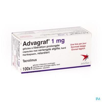 ADVAGRAF CAPS 100 X 1 MG