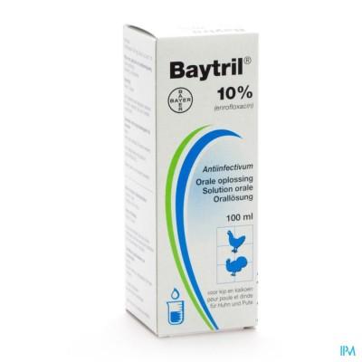 Baytril Oraal 10% Pluimvee 100ml