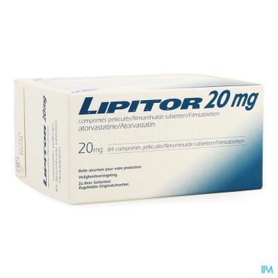 LIPITOR 20MG COMP 84X20MG