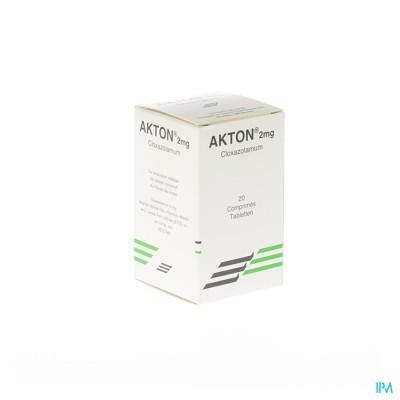 AKTON COMP 20 X 2 MG