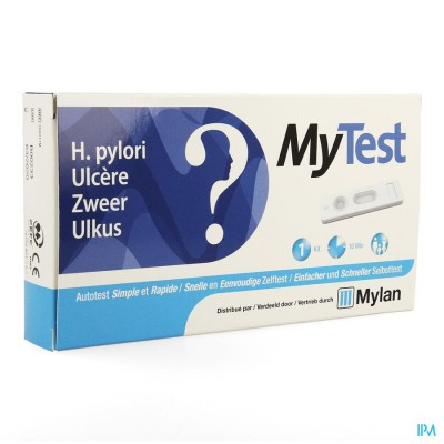 MY TEST H.PYLORI ZWEER (ZELFTEST) ZAKJE 1