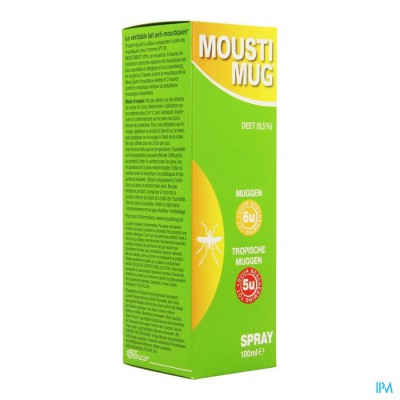 MOUSTIMUG 9,5% DEET SPRAY 100ML