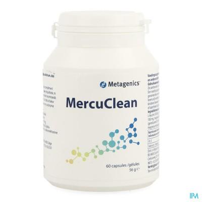 MERCUCLEAN           POT CAPS  60 3734  METAGENICS
