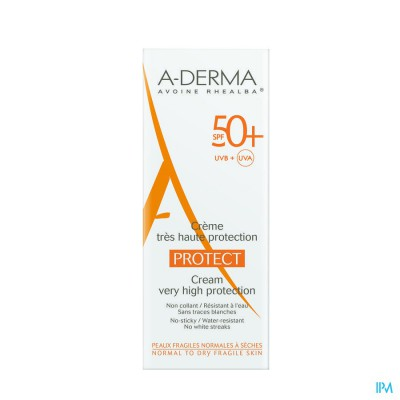 ADERMA PROTECT CREME IP50+     40ML