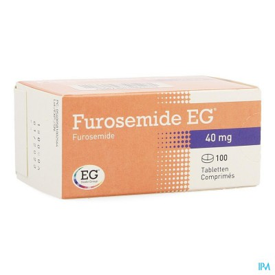 FUROSEMIDE EG TABL 100 X 40 MG
