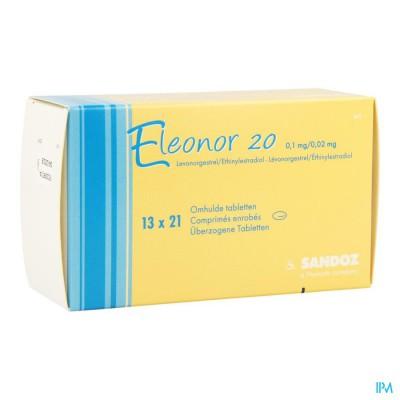 ELEONOR 0,1MG/0,02MG OMHULDE TABL 13X21