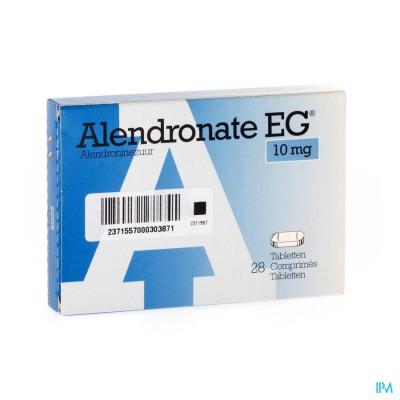 ALENDRONATE EG 10 MG COMP 28 X 10 MG