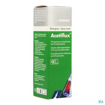 ACETIFLUX 3% NEUSSPRAY LSP 20ML