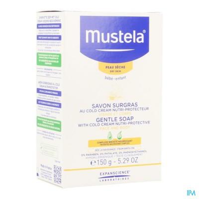 MUSTELA PS ZEEP OVERVET COLD CREAM 150G