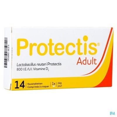 PROTECTIS ADULT KAUWTABLETTEN 14