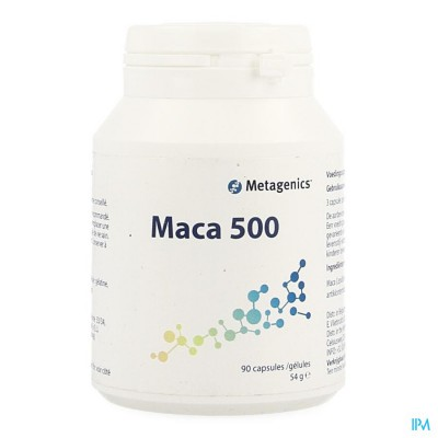 MACA 500 CAPS 90 4071 METAGENICS