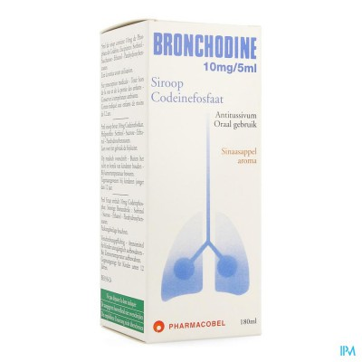 BRONCHODINE SIR. 180 ML