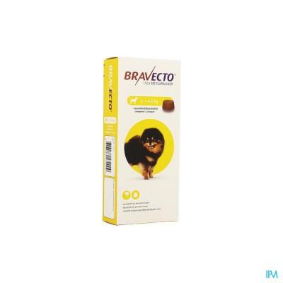 Bravecto Kauwtabletten Hond 1x 112,5mg