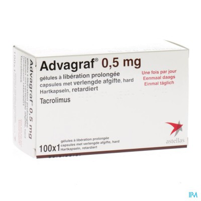 ADVAGRAF CAPS 100 X 0,5 MG
