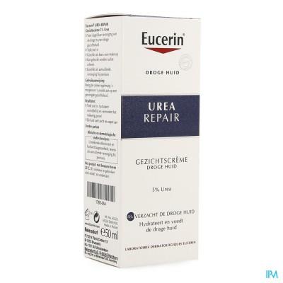 EUCERIN DROGE HUID GEZICHTSCREME 5% UREA TBE 50ML