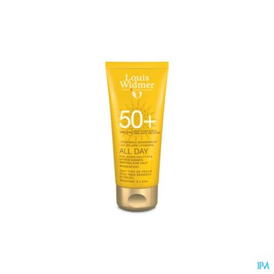 WIDMER SUN ALL DAY 50 PARF TUBE 100ML