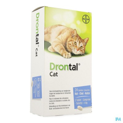 Drontal Katten Chats Comp 24