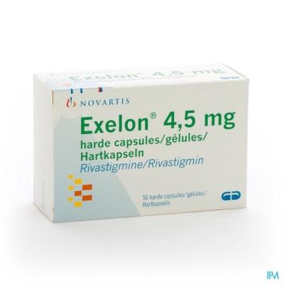 EXELON CAPS 56 X 4,5 MG