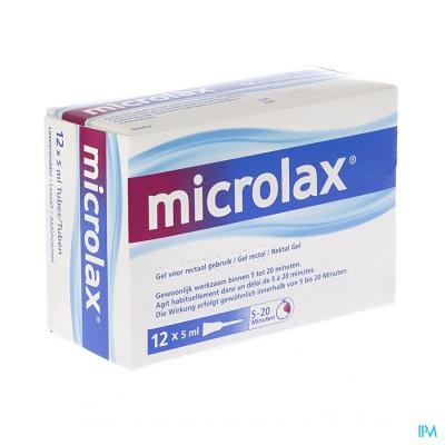 MICROLAX 12 X 5 ML
