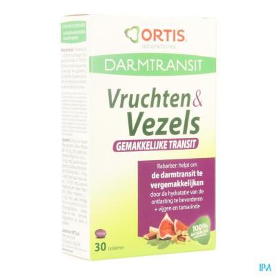 ORTIS VRUCHTEN & VEZELS GEMAKKEL.TRANSIT TABL 30