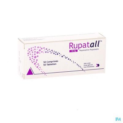 RUPATALL 10 MG TABL 50