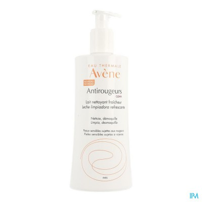 AVENE ANTIROUGEURS CLEAN VERFRISSENDE MELK 400ML