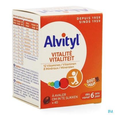 ALVITYL VITALITEIT TABL 40