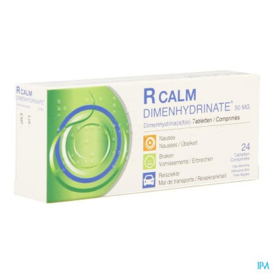R CALM DIMENHYDRINATE COMP 24