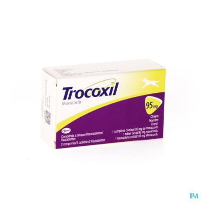 Trocoxil 95mg Kauwtabletten 2