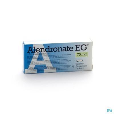 ALENDRONATE EG 70 MG COMP 4 X 70 MG