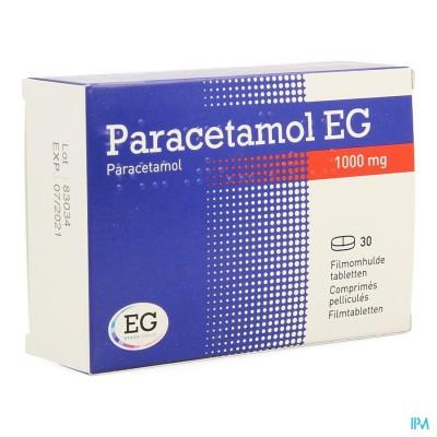PARACETAMOL EG 1000 MG FILMOMH TABL 30