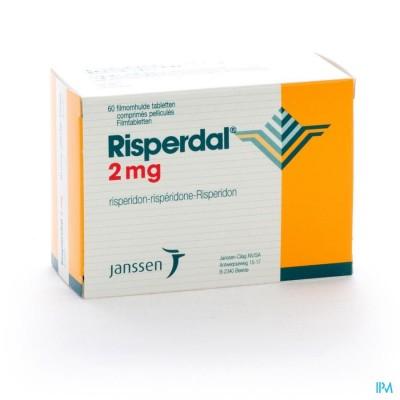 RISPERDAL COMP PELL 60 X 2 MG